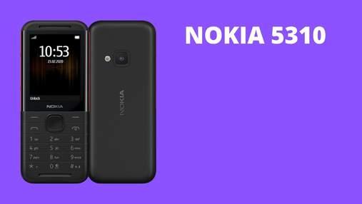 Повернення легенди: оновлена Nokia 5310 Xpress Music надійшла у продаж в Україні
