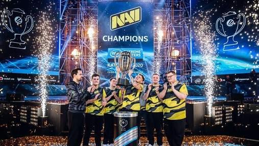 Украинская команда NAVI победила на престижном турнире по CS:GO