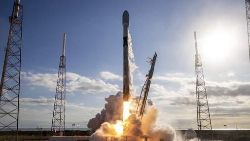 SpaceX успешно запустила ракету Falcon 9 с миссией Starlink 5: на орбиту выведено 60 спутников
