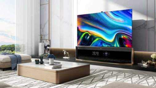 Hisense выпустила уникальный 85-дюймовый телевизор с двумя экранами