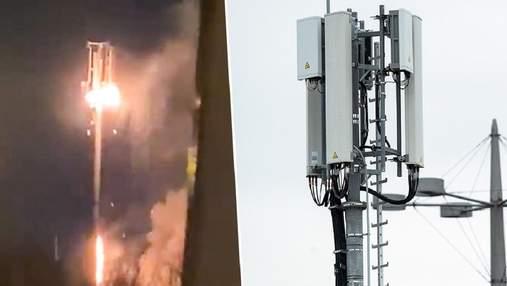 В Великобритании поджигают антенны 5G из-за слухов об их связи с коронавирусом