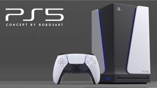 А если не только геймпад: художник показал свой дизайн PlayStation 5