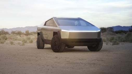 """Илон Маск: серийный Cybertruck станет меньше и сможет """"немного плавать"""""""