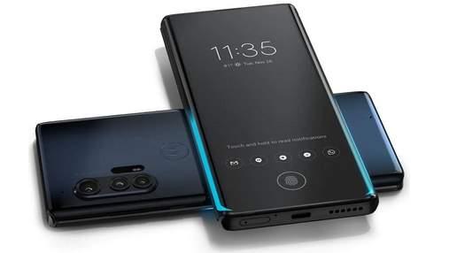Представили флагманский Motorola Edge+: характеристики и цена модели