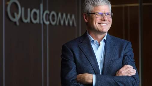 Гендиректор Qualcomm прогнозує суттєве падіння продажу смартфонів