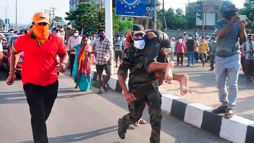 Утечка газа на заводе LG в Индии: много погибших, сотни попали в больницы