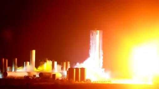 Зореліт Ілона Маска пройшов випробування вогнем: відео
