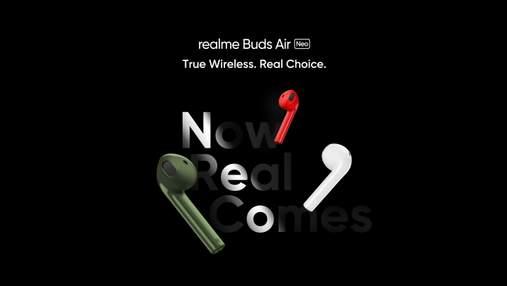 Realme выпустила очень бюджетные беспроводные наушники