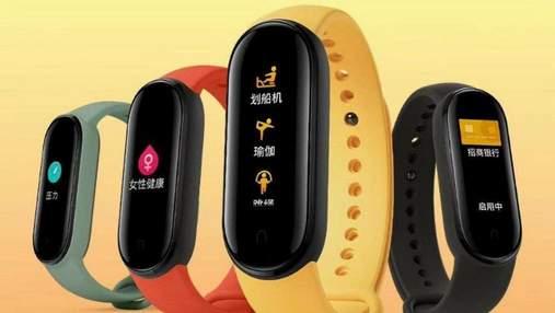 Xiaomi показала всі варіанти Mi Band 5 на офіційному тизері