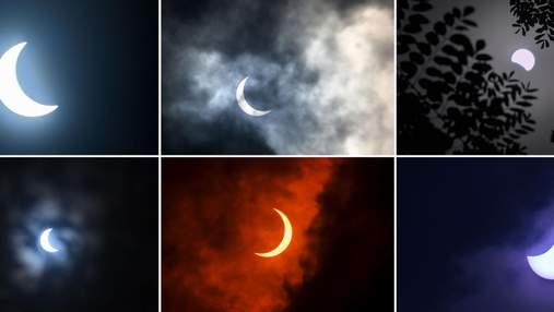 """""""Огненное кольцо"""": уникальное солнечное затмение на фото и видео"""