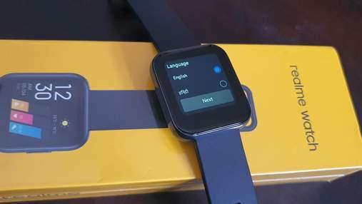 Доступний смарт-годинник Realme Watch отримав підтримку української