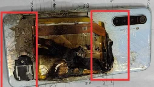 Смартфон взорвался через сутки после покупки: ужасные фото