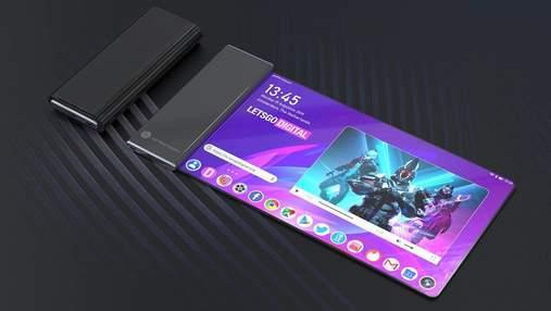 """Топ-менеджер LG анонсував """"рулонний смартфон"""" з гнучким екраном"""