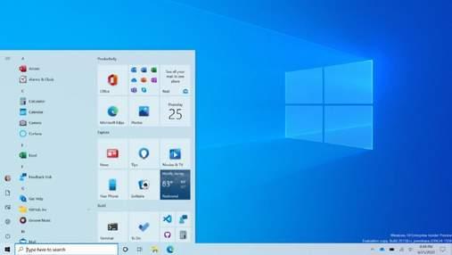 """У Windows 10 Developer Preview 20161 показали оновленне меню """"Пуск"""" і режим мініатюр в Edge"""