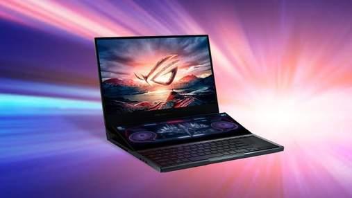 ASUS презентував геймерський ноутбук з двома екранами ROG Zephyrus Duo 15: продаж стартував