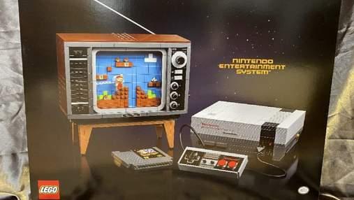LEGO створила набір, з якого можна скласти робочу приставку Nintendo