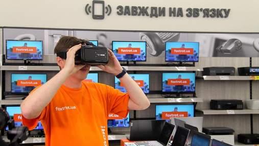 Фокстрот обновляет магазины техники: новые открытия в Киеве и Львове