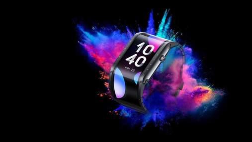 Nubia представила смартгодинник Nubia Watch з гнучким дисплеєм і підтримкою голосових викликів
