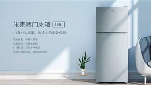 Xiaomi выпустила самый дешевый двухдверный холодильник бренда Mijia