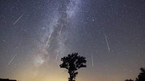 Зорепад Персеїди: фото найяскравішого метеоритного потоку року