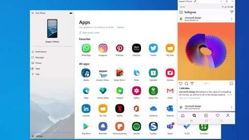 У Windows 10 активно тестують функцію стрімінгу Android-додатків прямо на комп'ютер
