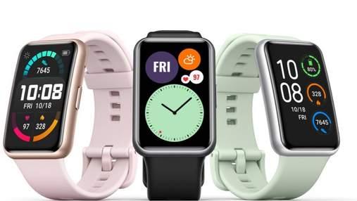 Huawei випустила недорогий смарт-годинник Watch Fit