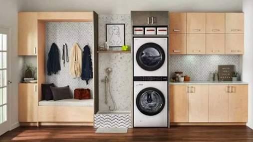 LG показала новую стиральную машину со смарт-возможностями