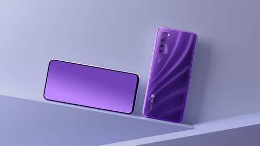 ZTE показала перший у світі смартфон з підекранною селфі-камерою