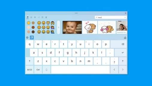 У Windows 10 оновили дизайн віртуальної клавіатури і голосового введення