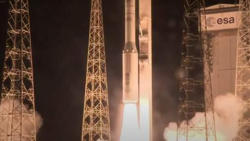 Успішний запуск ракети Vega з українським двигуном: відео
