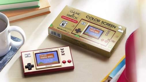 Nintendo перевипустить портативну ретро-консоль Game & Watch: відео
