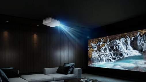 LG представила флагманский проектор Cinebeam 4K UHD Laser