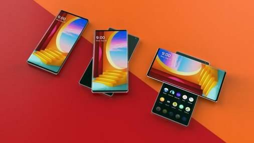 Незвичний смартфон LG Wing з обертовим екраном показали в дії: відео