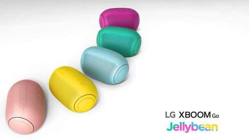 Чисте звучання, збалансовані баси та до 24 годин роботи: огляд колонок LG XBOOM Go серії PL