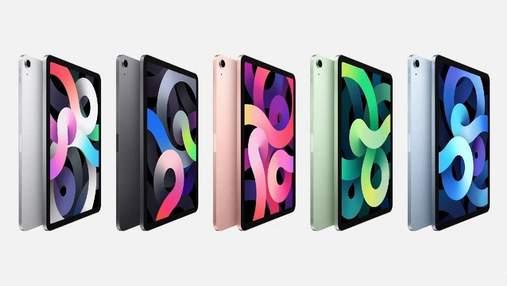 iPad 8 та iPad Air 4: ціни нових планшетів Apple в Україні
