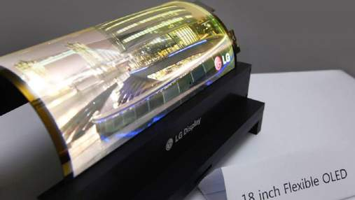 LG запатентовала смартфон-рулон со стилусом