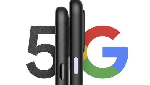 Подробные характеристики Google Pixel 4a 5G и Pixel 5