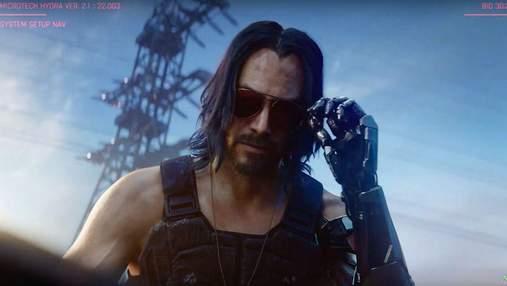 Новий тизер Cyberpunk 2077 з Кіану Рівзом та музикою Біллі Айліш: відео