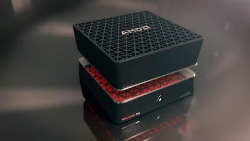 AMD запатентувала ігровий міні-ПК з двома відеокартами: фото