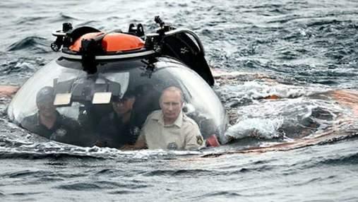 Кримські води бачили потворніших істот, – офіційний акаунт України у твіттері потролив Путіна