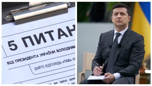 У телеграмі на питання Зеленського відповіли понад 120 000 людей: які результати
