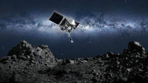 NASA відібрало ґрунт з астероїда Бенну в 320 мільйонах кілометрів від Землі