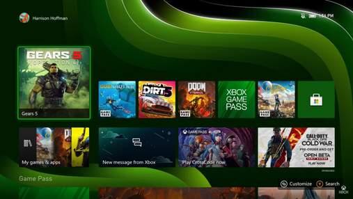 Microsoft наконец показала интерфейс Xbox Series X/S: видео
