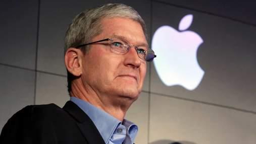 На Тіма Кука подали до суду через приховування падіння попиту на iPhone