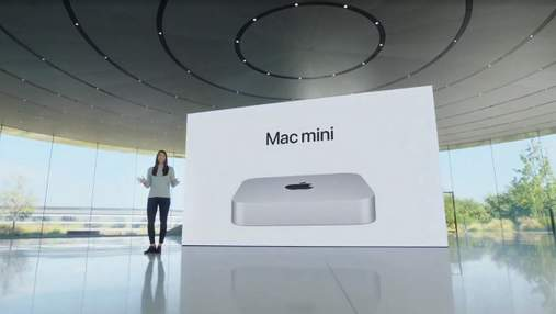 Mac mini: Apple показала обновленный компактный компьютер