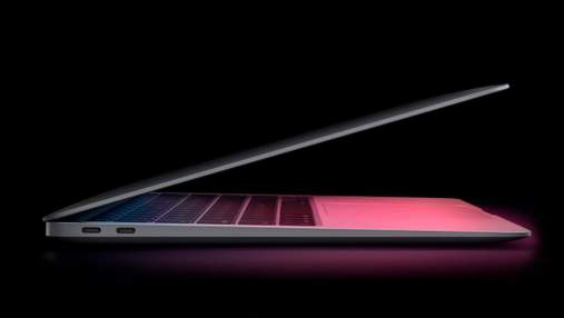 """MacBook Air з процесором M1 обійшов топові """"маки"""" на Intel у бенчмарках"""