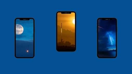 Подборка обоев SpaceX для iPhone в честь запуска Crew Dragon