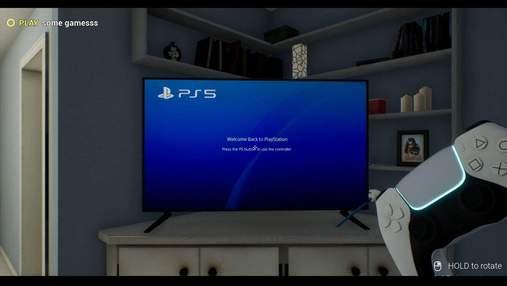 В сети появился бесплатный симулятор Play Station 5: видео игрового процесса
