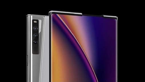 Oppo представила смартфон X 2021 с экраном, который растягивается