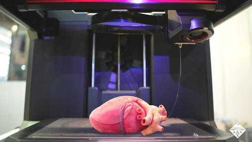 На 3D-принтере напечатали реалистичную модель сердца: видео
